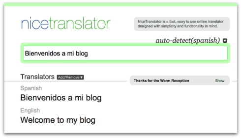 nicetranslator