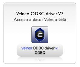 Velneo ODBC driver V7
