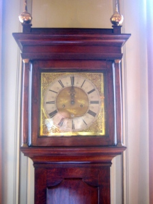 Reloj de pared en el salón de Albert Einstein en su casa de Berna