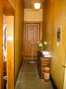 Entrada de la casa de Albert Einstein en Berna